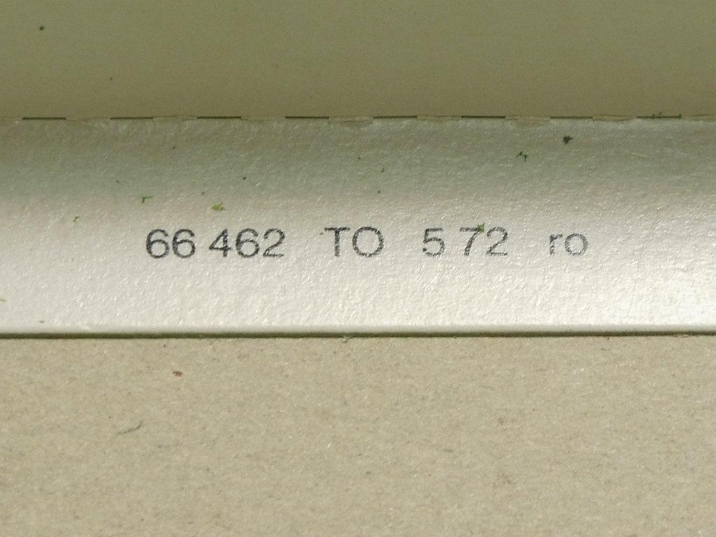 Zeitstempel Deckel - Mai 1972