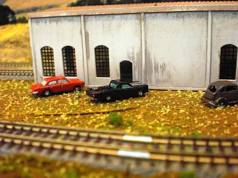 Autos am Lokschuppen