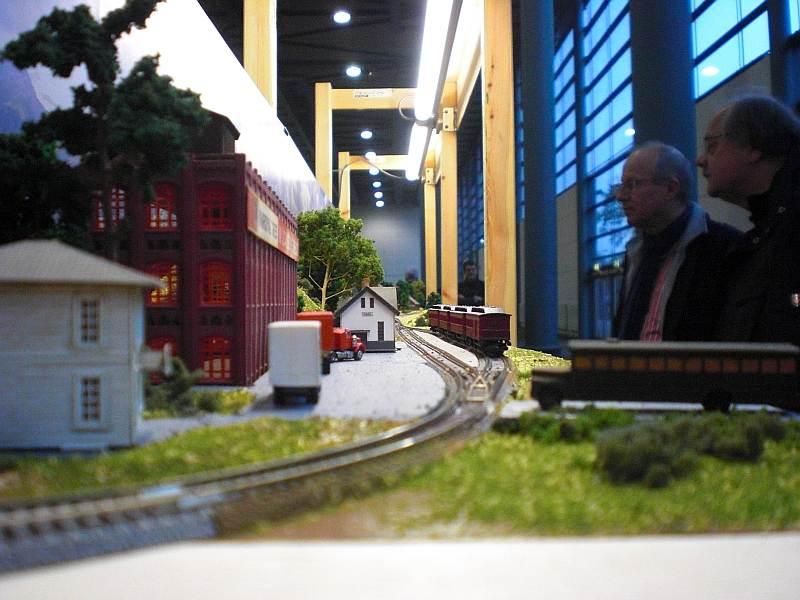 Sicht über das Bahnhofssegment