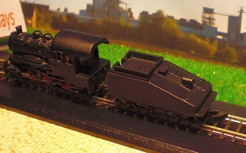 Lokomotive 1 mit Tender