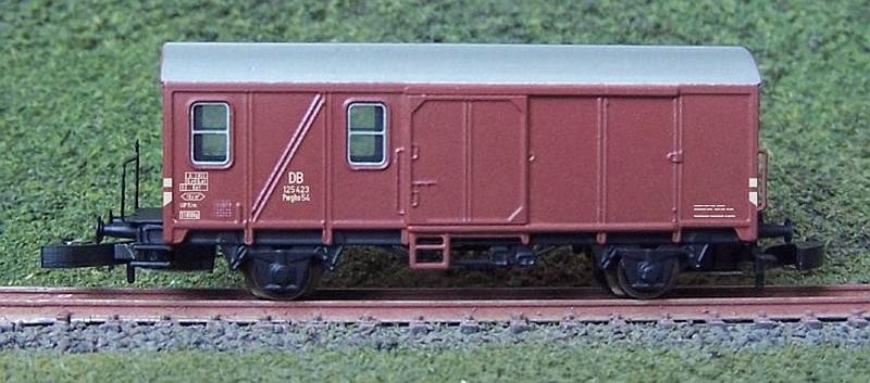 Güterzugbegleitwagen Pwghs54
