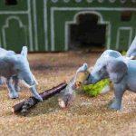 Elefanten bei der Arbeit